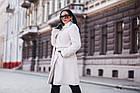 Меховое Пальто 100см  Из Шерсти Мериноса  010ГШ, фото 4