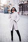 Меховое Пальто 100см  Из Шерсти Мериноса  010ГШ, фото 5
