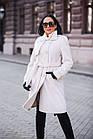 Меховое Пальто 100см  Из Шерсти Мериноса  010ГШ, фото 7