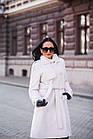 Меховое Пальто 100см  Из Шерсти Мериноса  010ГШ, фото 8