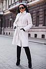 Меховое Пальто 100см  Из Шерсти Мериноса  010ГШ, фото 9