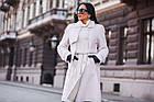 Меховое Пальто 100см  Из Шерсти Мериноса  010ГШ, фото 10