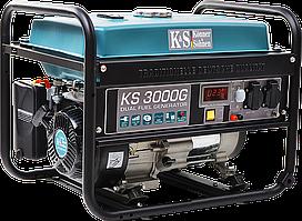 Генератор газобензиновый Konner&Sohnen KS 3000G (3 кВт)