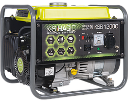 Генератор бензиновый Konner&Sohnen BASIC KSB 1200C (1 кВт)