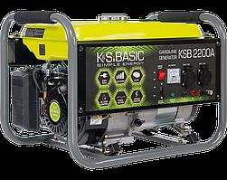 Генератор бензиновый Konner&Sohnen BASIC KSB 2200A (2.2 кВт)