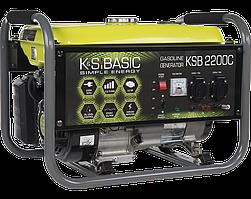 Генератор бензиновый Konner&Sohnen BASIC KSB 2200C (2.2 кВт)