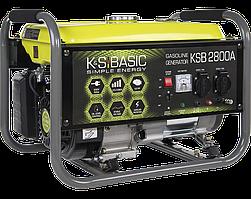 Генератор бензиновый Konner&Sohnen BASIC KSB 2800A (2.8 кВт)