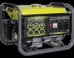 Генератор бензиновый Konner&Sohnen BASIC KSB 2800C (2.8 кВт)