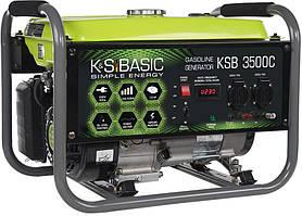 Генератор бензиновый Konner&Sohnen Basic KSB 3500C (3 кВт)