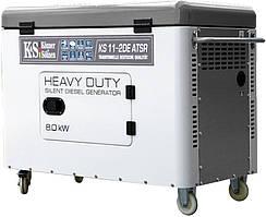 Генератор дизельний Konner&Sohnen Heavy Duty KS 11-2DE ATSR (8 кВт)