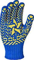 Перчатки трикотажные с ПВХ Doloni XL (200 пар)