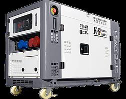 Генератор дизельний Konner&Sohnen Heavy Duty KS 13-2DEW 1/3 ATSR (11.25 кВА, 3ф~)
