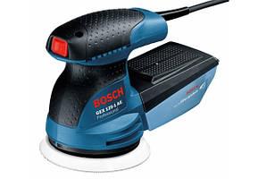 Ексцентрикова шліфувальна машина Bosch GEX 125-1 AE (0.25 кВт, 125 мм) (0601387500)