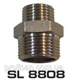 """Ніпель 3/4""""x1/2"""" ПН нікель SL8808 SELBA Germany"""