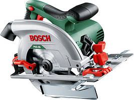 Ручна циркулярна пила Bosch PKS 55 (1.2 кВт, 160 мм) (0603500020)