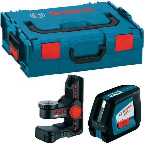 Лазерний нівелір Bosch GLL 2-50 Professional (20 м, з приймачем - 50 м) (0601063108)