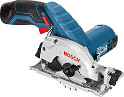 Акумуляторна циркулярна пила Bosch GKS 10.8 V-LI Professional (10.8 В, 2 А*год) (06016A1000)