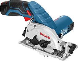 Акумуляторна циркулярна пила Bosch GKS 10.8 V-LI Professional (10.8 В, без АКБ) (06016A1001)