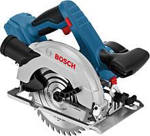 Акумуляторна циркулярна пила Bosch GKS 18 V-57 Professional (18 В, без АКБ) (06016A2200)