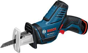 Акумуляторна шабельна пила Bosch GSA 10.8 V-LI Professional (10.8 В, 2 А*год) (060164L972)