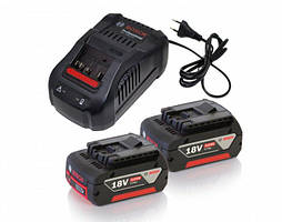 Акумулятор Li-ion Bosch GBA + зарядний пристрій GAL 1880 CV (18 В, 5 А*год) (1600A00B8J)