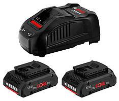 Аккумуляторы Li-ion Bosch ProCORE + зарядное устройство GAL 1880 CV (18 В, 4 А*ч) (1600A016GF)