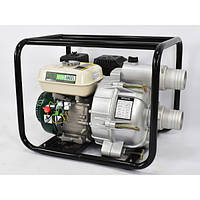 Мотопомпа бензинова для брудної води Iron Angel WPGD 90 (7 к. с., 1250 л/хв) (2001057)