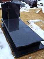 Памятник из гранита габбро П - С 10