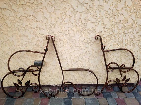 Кованая средняя часть для скамейки, фото 2