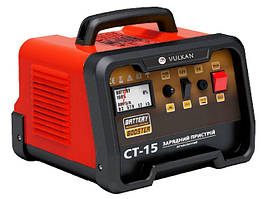 Автомобільний зарядний пристрій Vulkan CT15 (15 А, 20-150 А*год) (30081)