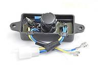 Автоматический регулятор напряжения AVR (дуга пластик) для генераторов 2-3 кВт (250 В, 220 мкФ) (237), фото 1