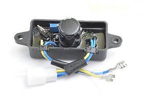 Автоматический регулятор напряжения AVR (дуга пластик) для генераторов 2-3 кВт (250 В, 220 мкФ) (237)