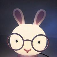 Детский Светильник кролик светильник для детской комнаты белый ночник настольная лампа