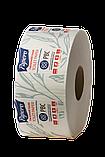 Туалетная бумага PAPERO на гильзе джамбо двухслойная 90 м., фото 3