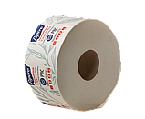 Туалетная бумага PAPERO на гильзе джамбо двухслойная 90 м., фото 5