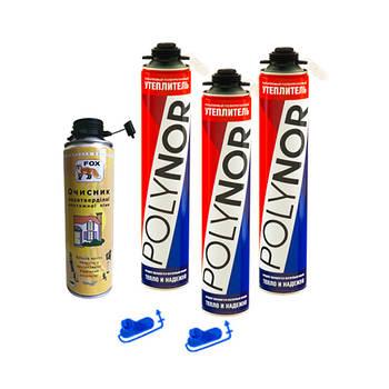 Напилюваний поліуретановий утеплювач Polynor комплект № 3