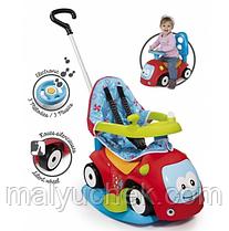 Машина для катання дитяча Smoby Toys Маестро комфорт 4 в 1 з функцією гойдалки 720400
