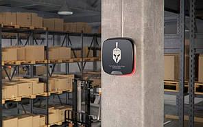 Бездротова внутрішня сирена Ajax StreetSiren DoubleDeck Біла з кріпленням для брендованої лицьовій панелі