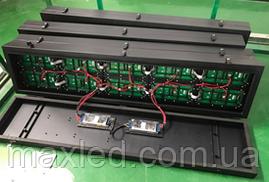 Кабінет для складання модулів P10/P5 128*16 ( товщина 100мм ) ВОЛОГОЗАХИСТ ( з задньою кришкою )