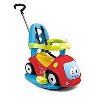 """Детская машина каталка толокар """"Маестро"""" з гойдалкою 4 в 1 Maestro Smoby 720302 для детей"""