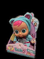 Кукла Пупс Плакса ABC Cry Babies Плакса Голубой медвежонок