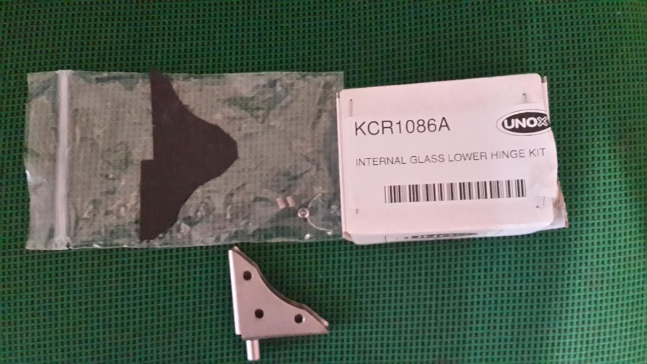Фиксатор из нержавейки KCR1086A стекла нижний для Unox