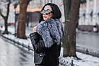 Куртка Замшевая Утепленная С Чернобуркой 012ГК, фото 7