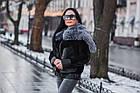 Куртка Замшевая Утепленная С Чернобуркой 012ГК, фото 9