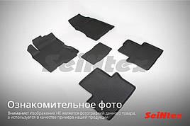 Килимки в салон Seintex 3D ворс Acura MDX 2014-2020 (чорні, 5шт.)