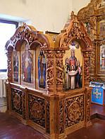 Клирос в Монастырский Храм