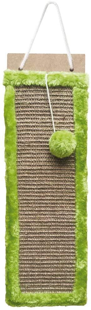 Когтеточка доска подвесная Croci 50*15 см (зеленая)