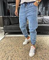 Чоловічі джоггери 5757 blue, фото 1