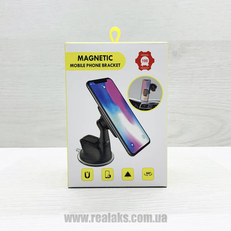 Магнітний автомобільний тримач для телефона Magnetic H-CT302 (чорний), фото 2