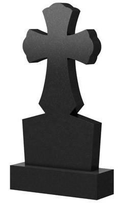 Памятник в виде креста из гранита (100 см) К-23